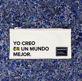 Galería de estilo - Estuche Margo 'Yo creo un mundo mejor' - Ekomodo