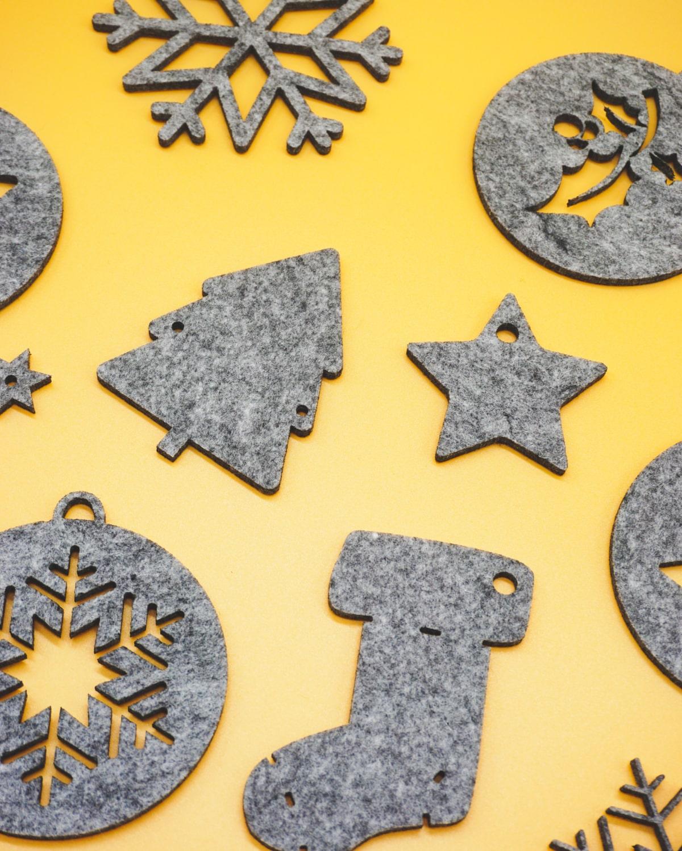 Adornos navideños NEGU